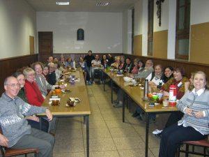 en la casa de retiros en Buenos Aires