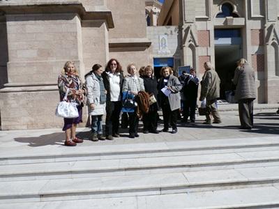 Participación de la VVeD en la Peregrinación ecuménica.