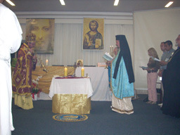 Divina Liturgia en el V Retiro Latinoamericano de la VVeD- Brasil